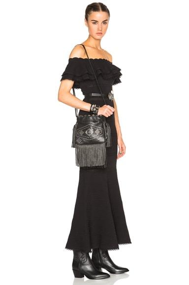 Helena Inca Stud & Fringe Bag