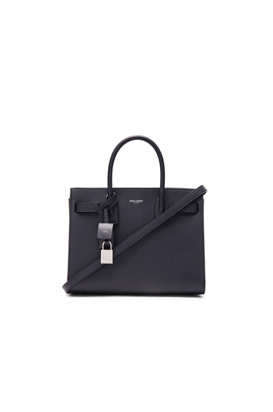 Saint Laurent Baby Sac De Jour in Marine
