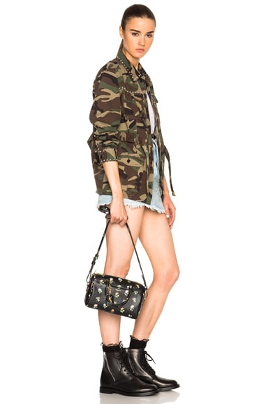 Baby Grunge Flower Print Duffle Bag