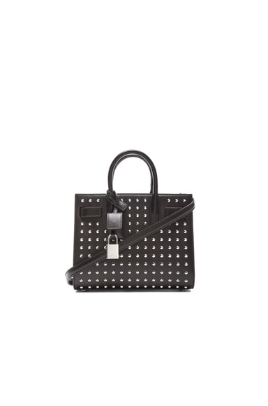 Nano Sac Du Jour Studded Carryall Bag