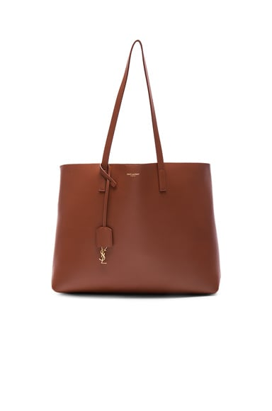 Saint Laurent Large Shopping Bag in Copper