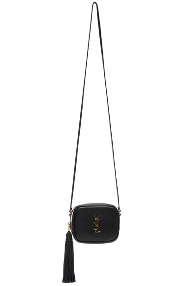 Saint Laurent Blogger Bag in Black