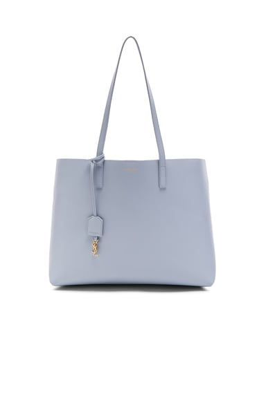Saint Laurent Large Shopping Bag in Sky Blue