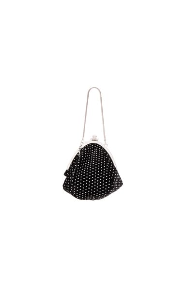 Small Glitter Dots Serpent Purse