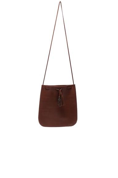 Saint Laurent Medium Jen Bag in Copper
