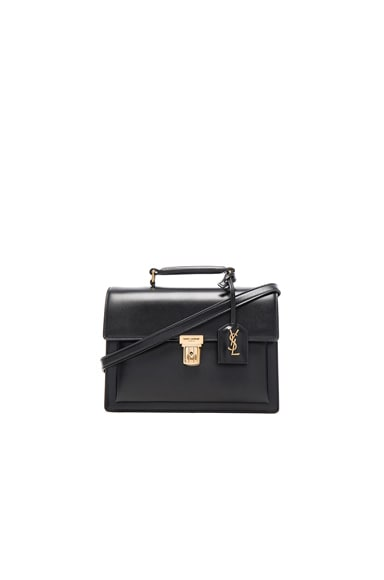 Saint Laurent Medium High School Bag in Black