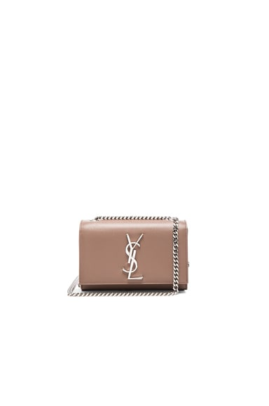 Saint Laurent Small Monogram Kate Chain Bag in Fard