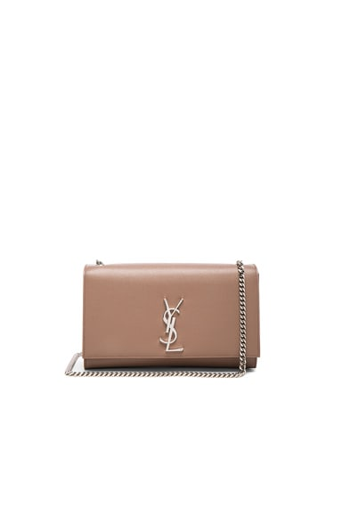 Saint Laurent Medium Monogram Kate Chain Bag in Fard