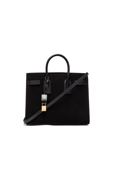 Saint Laurent Small Sac de Jour in Black