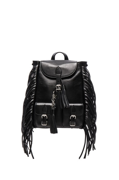 Saint Laurent Festival Backpack in Black