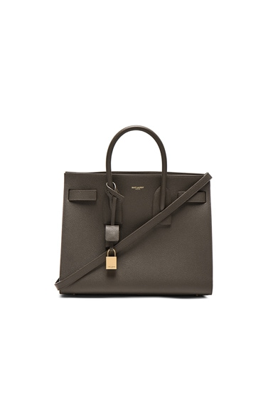 Saint Laurent Small Sac de Jour in Bronze