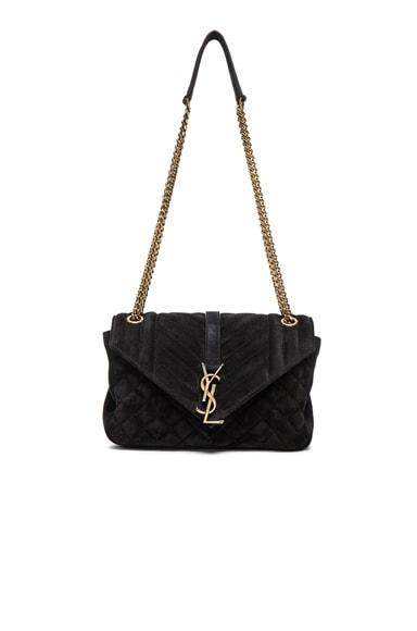 Medium Monogram Slouchy Suede Chain Bag