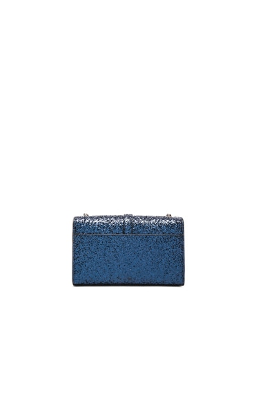 Small Monogram Glitter Chain Bag