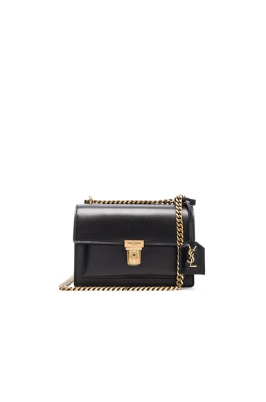 Saint Laurent Small Chain High School Bag in Black