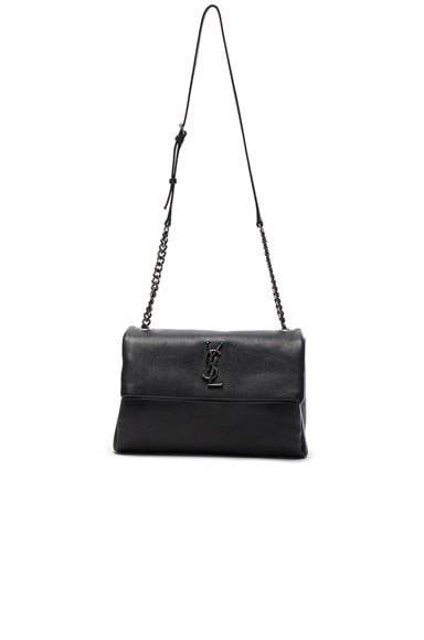 Saint Laurent Monogram West Hollywood Bag in Black