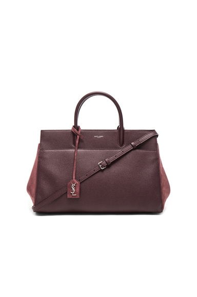 Saint Laurent Rive Gauche Medium Cabas in Bordeaux