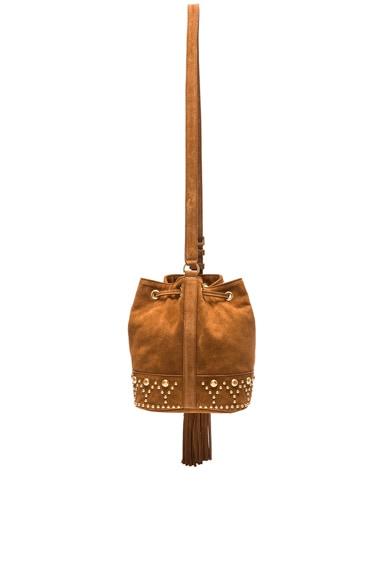 Y Studs Small Bucket Bag