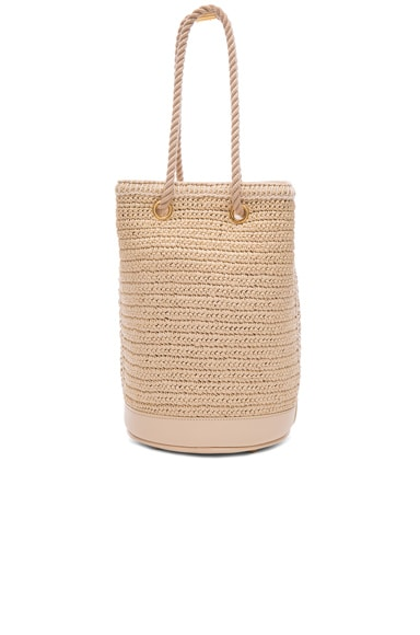 Sea Small Rope Bucket Bag