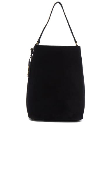 Saint Laurent Hobo Large Bag in Black