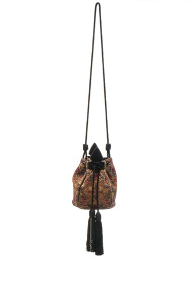 Anja Tapestry Bucket Bag