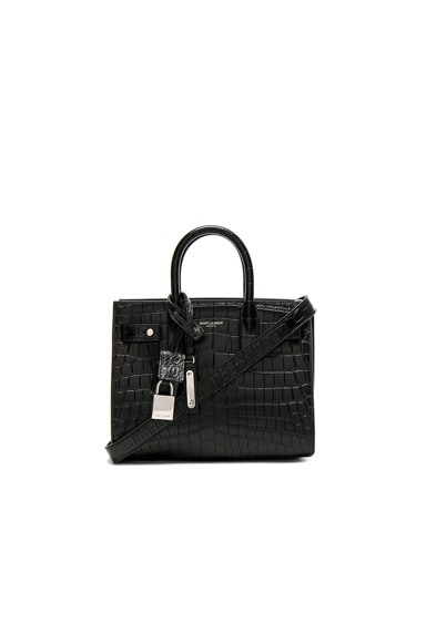Nano Croc Embossed Supple Sac de Jour