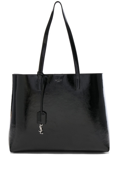Patent Leather Shopping Bag