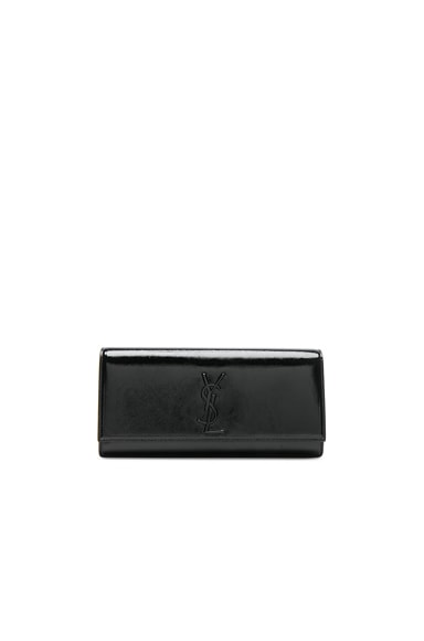 Patent Monogramme Kate Clutch