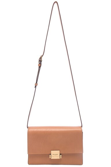 Medium Leather Bellechasse Satchel