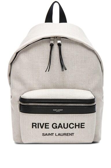 Mini Canvas Rive Gauche City Backpack
