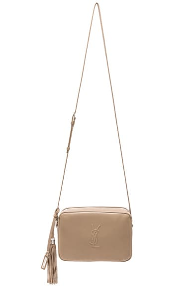 Medium Logo Embossed Lou Satchel