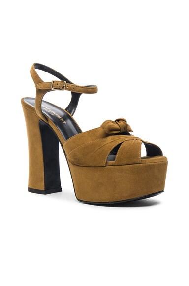 Suede Candy Heels