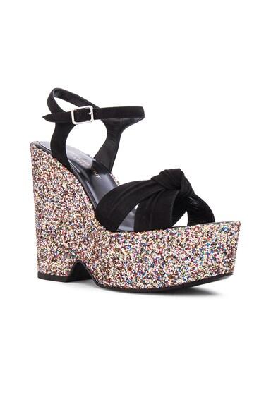 Glitter Candy Sandals
