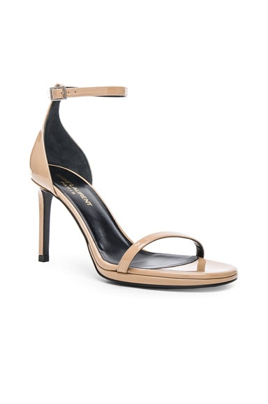 Patent Leather Jane Sandals