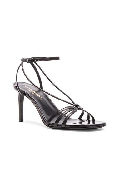 Leather Kate Heels