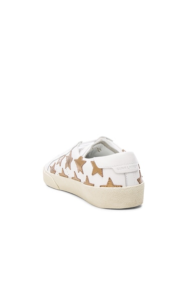Court Classic Star Leather Sneakers