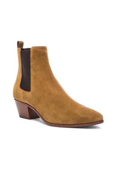 Suede Rock Chelsea Boots