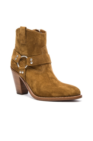 Suede Curtis Harness Boots