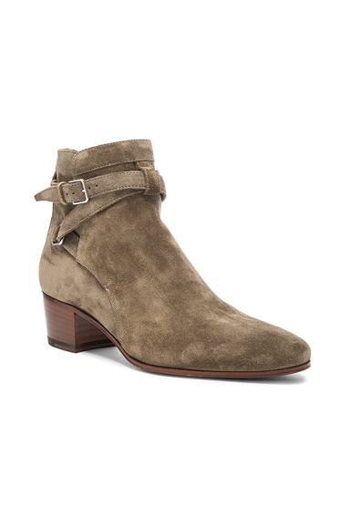 Blake Suede Buckle Boots