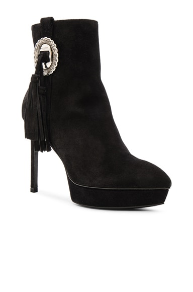 Suede Janis Concho Boots