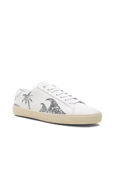 Sea, Sex & Sun Court Classic Leather Sneakers