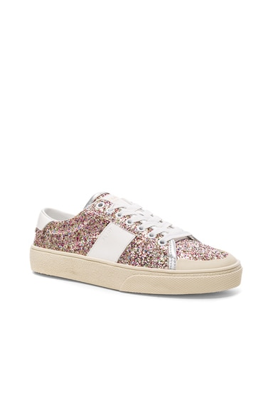 Glitter Court Classic Sneakers
