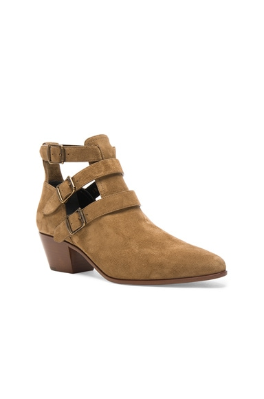 Suede Rock Boots