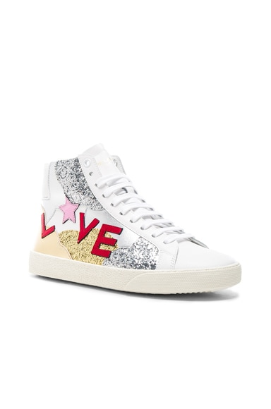 Leather Love Sneakers