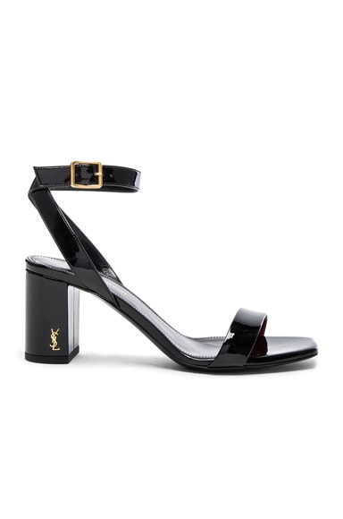 Loulou Patent Leather Sandals