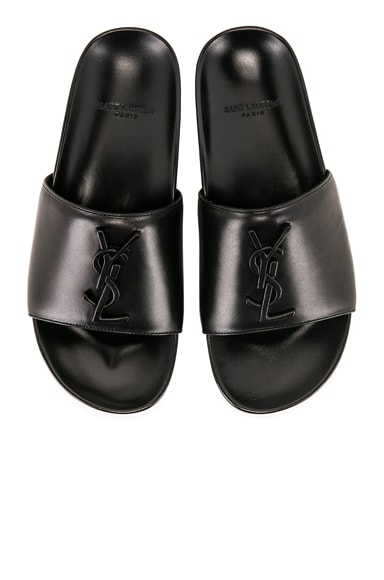 Joan Leather Slides