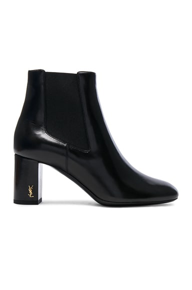 Leather Loulou Pin Boots