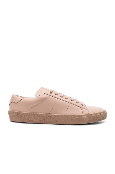 Leather Court Classic Sneakers