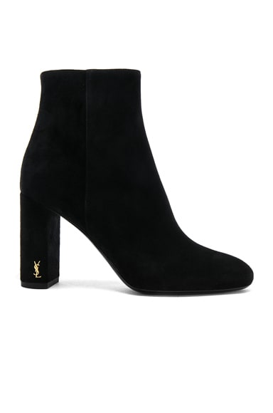 Suede Loulou Pin Boots