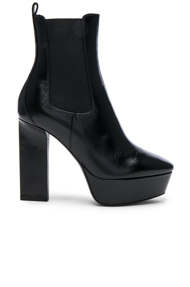 Leather Vika Platform Boots