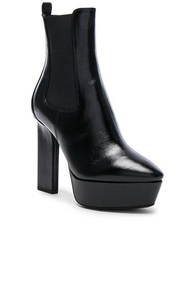 Leather Vika Platform Boots